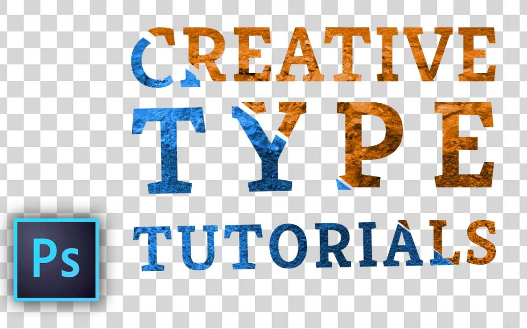 """Two Photoshop Type Tutorials for the weekend! """"Slice It Up"""" & """"Put an Image In It"""""""