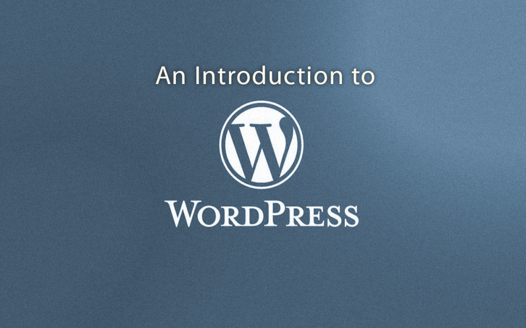 "New Course ""Introduction to WordPress"" for those new to web-site design or WordPress for site management #YQR #learning #course #SK"