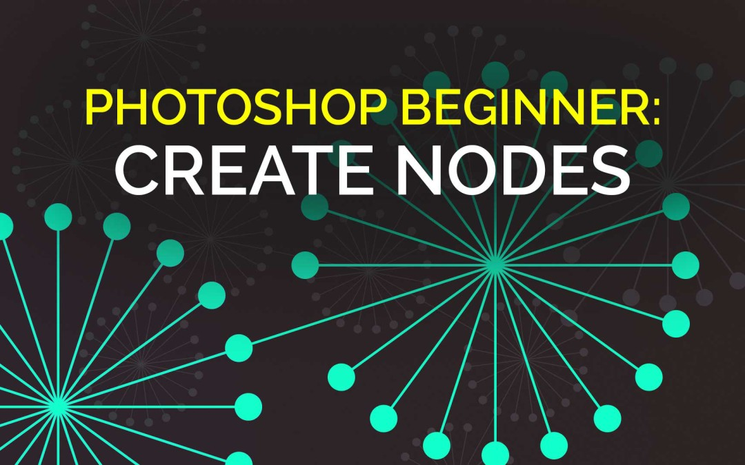 Photoshop Beginner: Create a Node Design using Vector Shape Layers, Layer Groups & Hue/Saturation #YQR #YXE