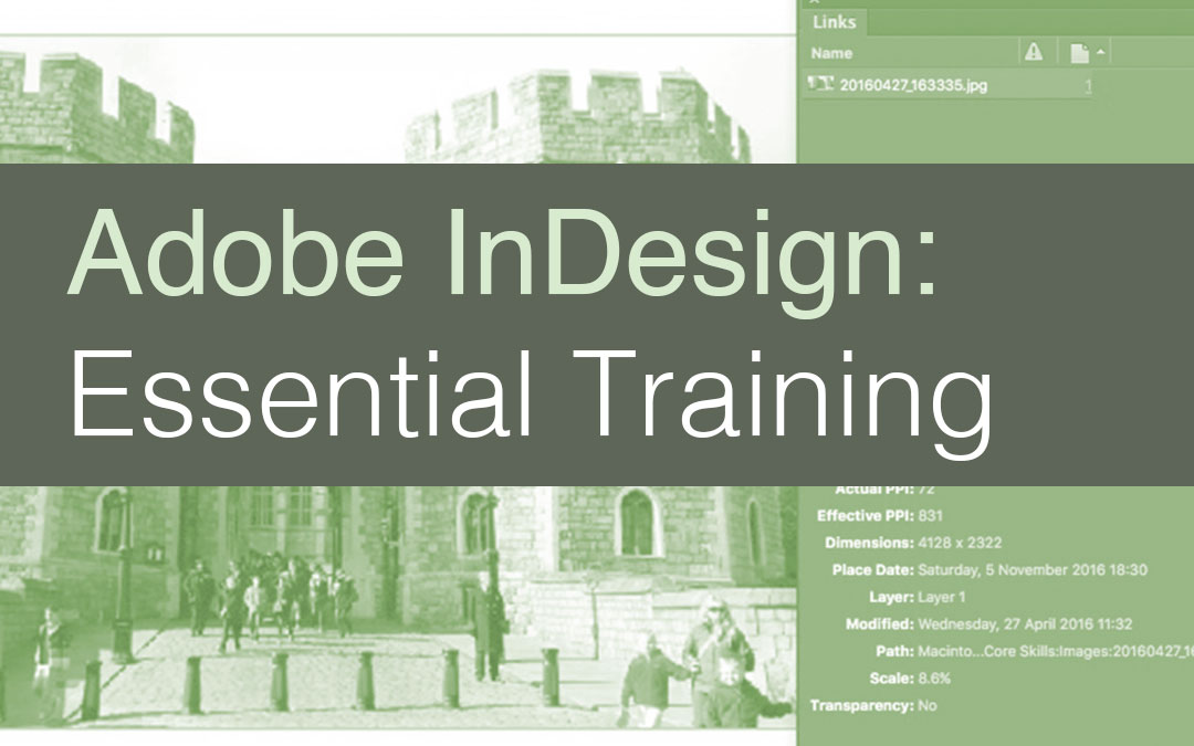 Adobe InDesign: Essentials – Saskatoon | 8-9 November 2017 #yxe