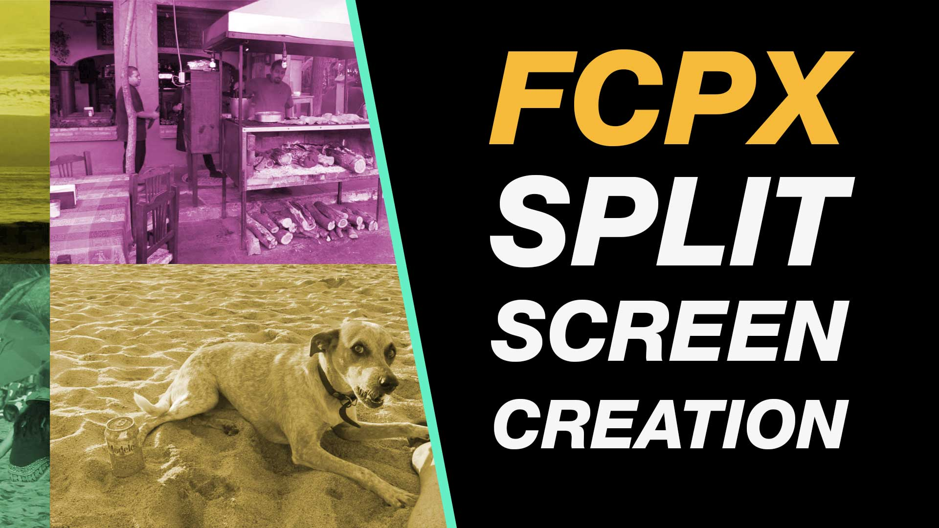Final Cut Pro X Tutorial: Free Split Screen Creation with No Plugins