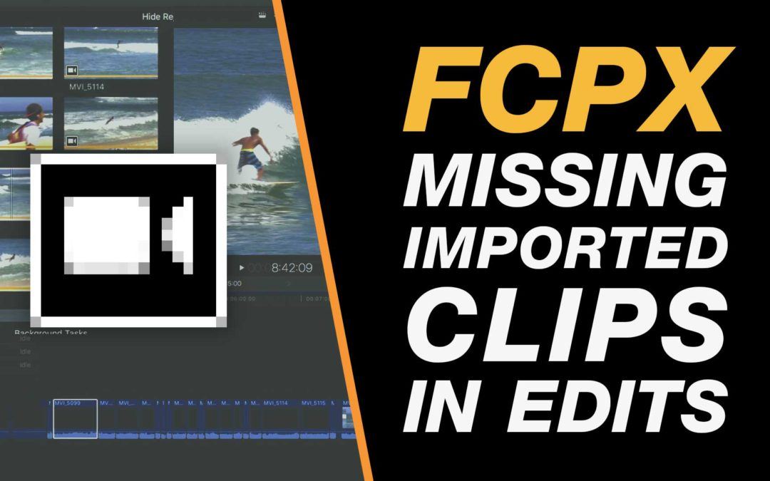 Final Cut Pro X Tutorial: Fix Missing Clips on the Timeline Video Import Issue #fcpx #london #yow #yqr #yyc #freetutorial