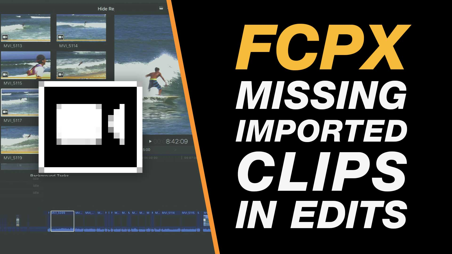 Fix Missing Clips on the Timeline Video Import Issue in Final Cut