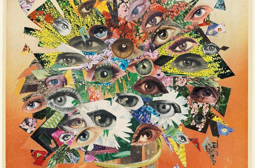 bouquet of eyes hannah höch 1930 art research ctch2111 germany